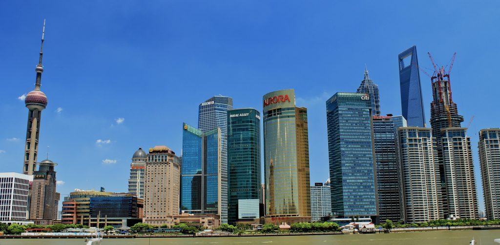 Beijing finance district