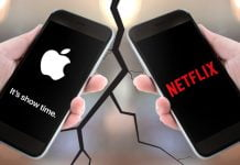 netflix apple war