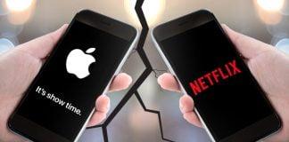 netflix apple war