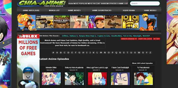 website like gogoanime