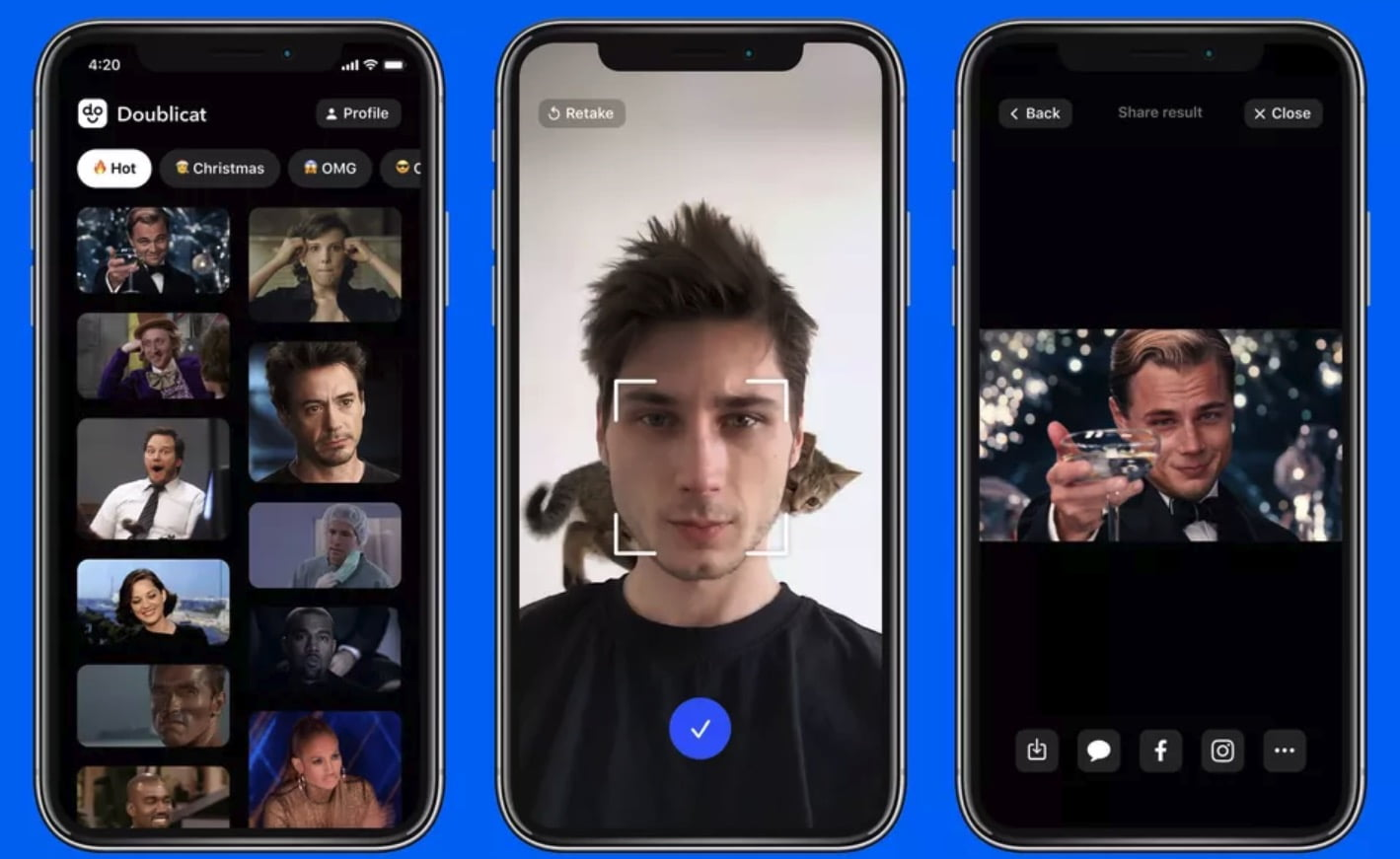 Latest Deepfake app posts your face in GIFs in seconds