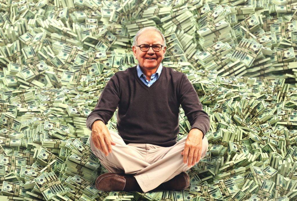 Buffett sitting on billions of dollars