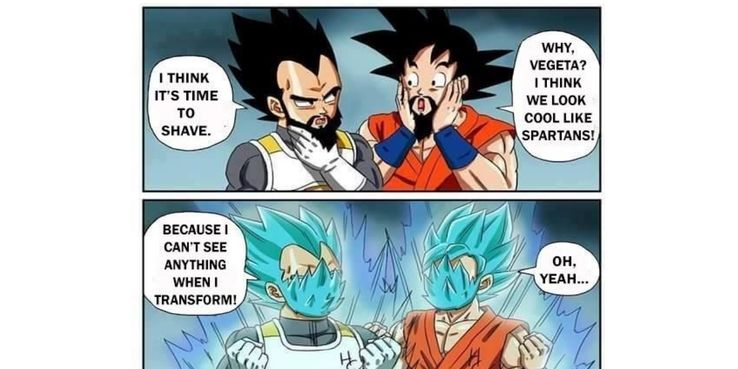 Best Dragon Ball Super Memes of Super Saiyan God Vegeta