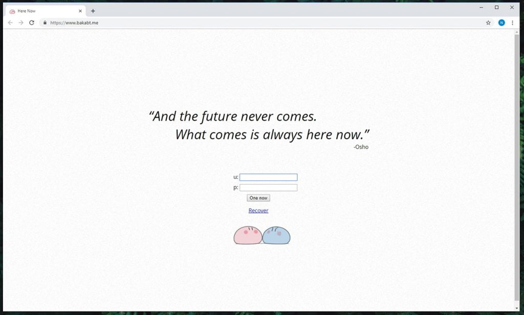 BakaBT Homepage