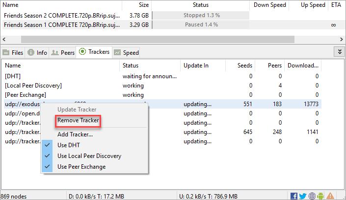 Torrent not downloading