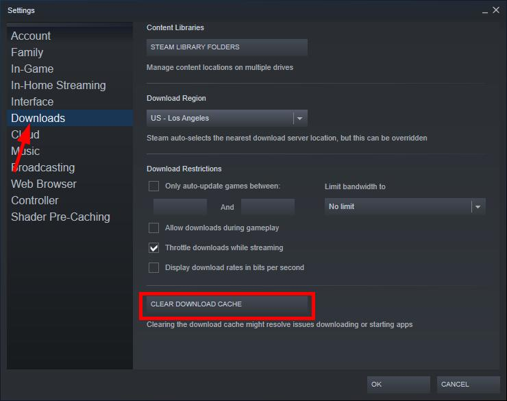 Steam download slow