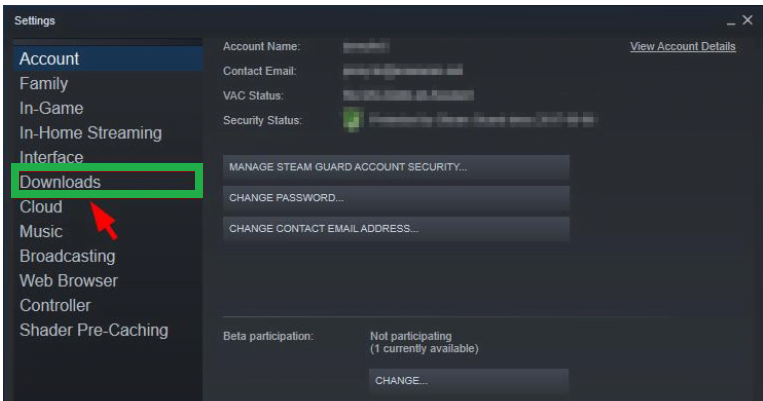 steam download stopping issue