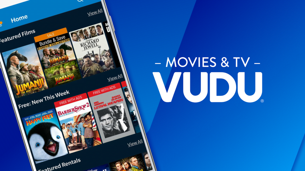 Watch  free vudu movies and shows with no sign up