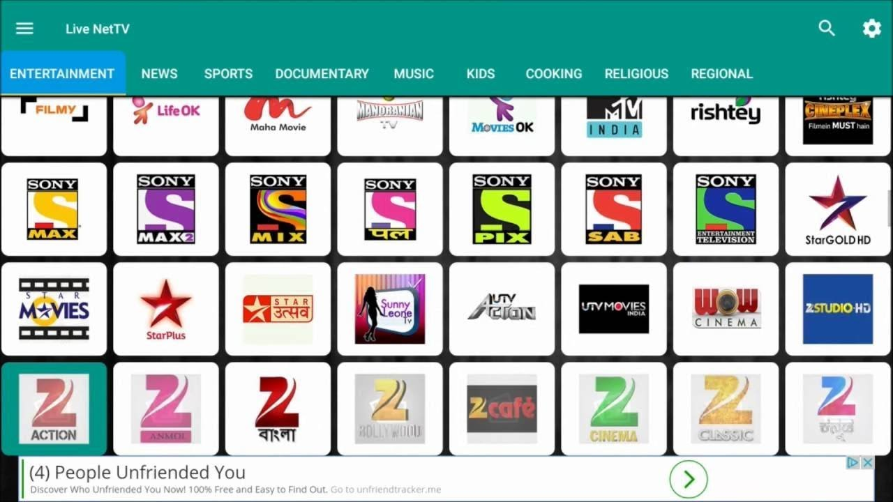 watch live tv channels for free