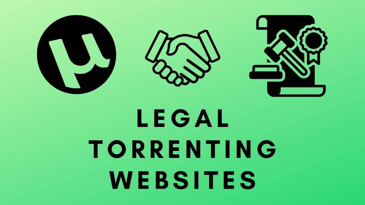 Legal Torrent Websites