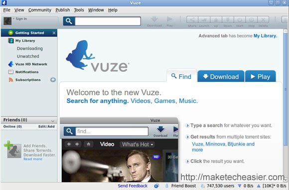 Vuze torrent client for windows