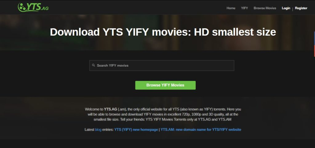 YTS Proxy Sites