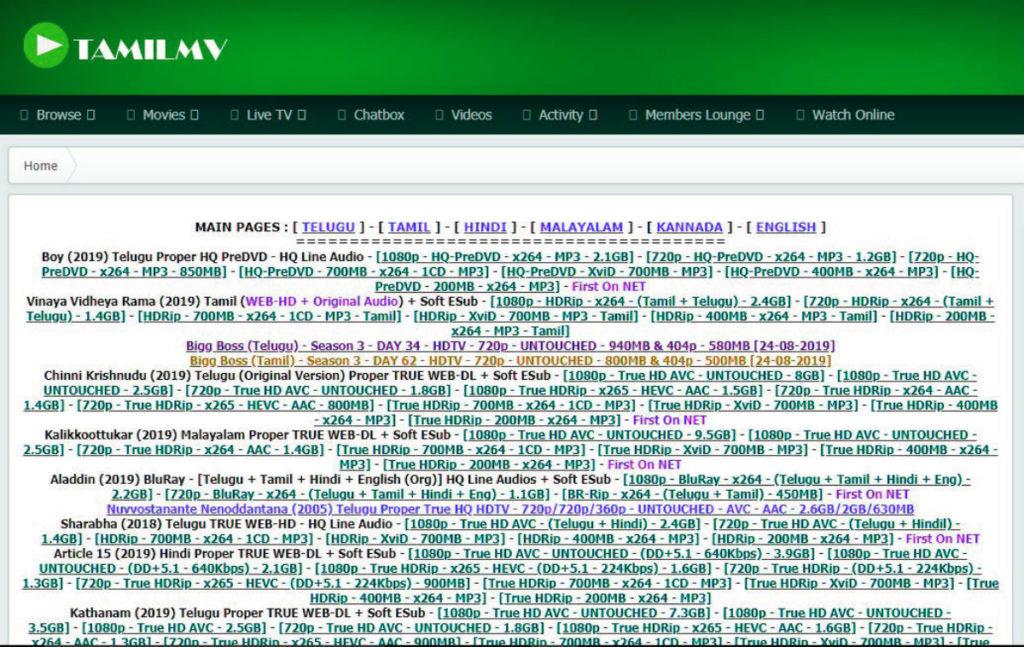 Tamilmv proxy unblocked