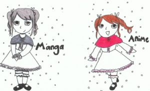 What is the difference between Manga and Anime