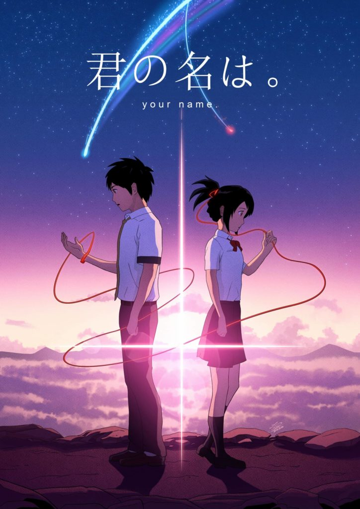 Anime poster of your name