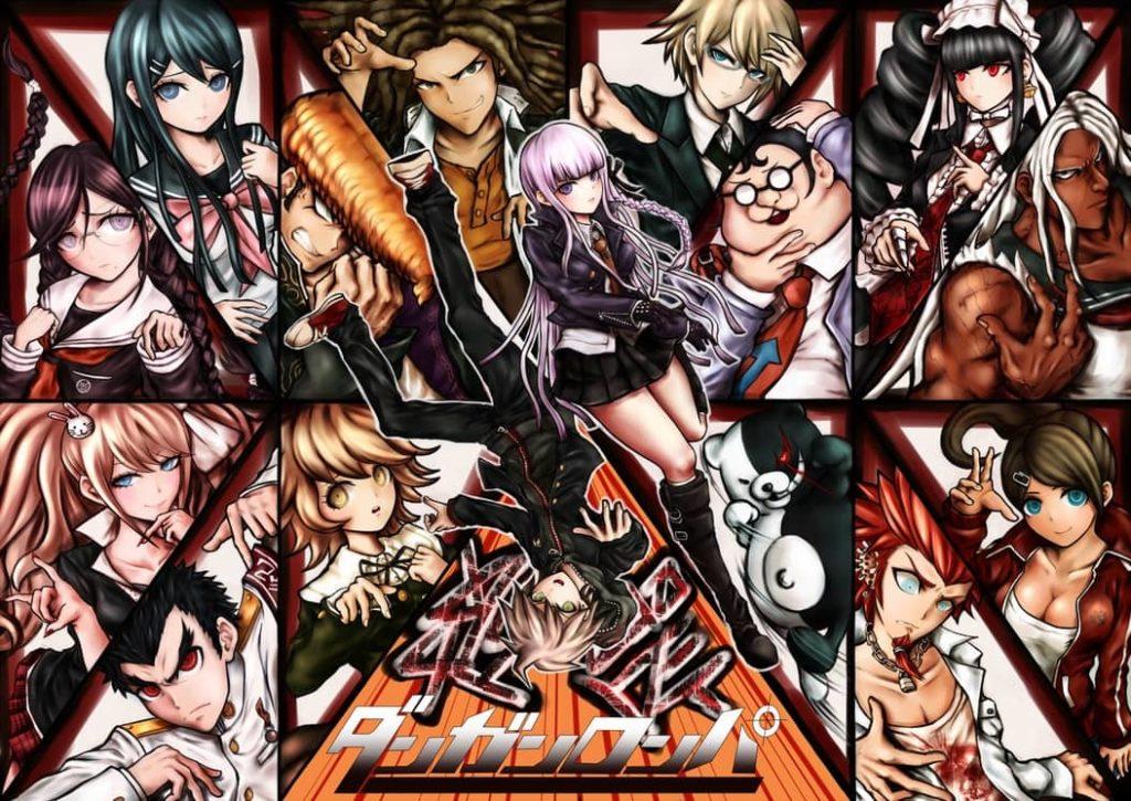 danganropa anime watch order