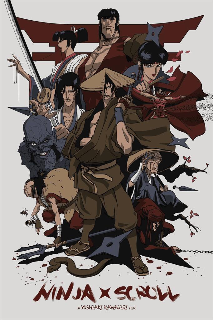 Ninja Scroll anime movie posted