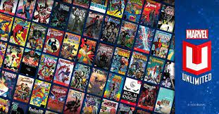 Marvel Unlimited website to read comic books online