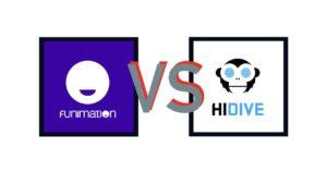 Hidive vs Funimation