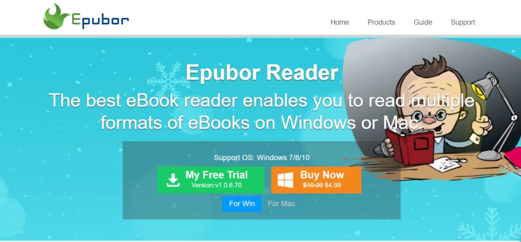 Epubor- epub reader